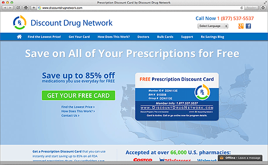 Discount Drug Network